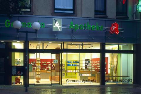 Apothekeneinrichtung | Germania Apotheke Essen