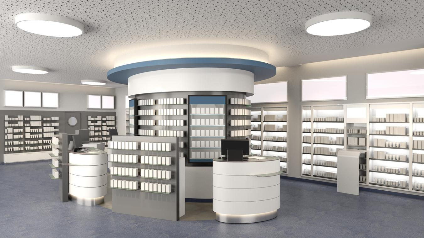 Apothekeneinrichtung | Intern. Rathaus Apotheke Hagen