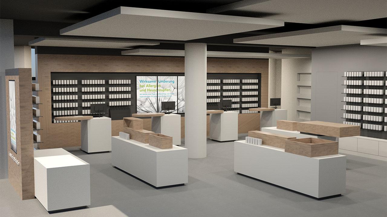 Apothekeneinrichtungen   Apotheke in NRW