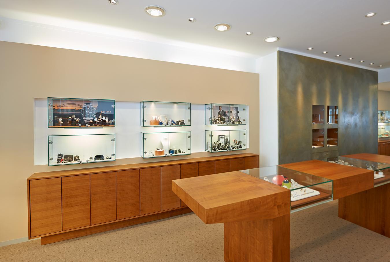 Ladeneinrichtungen | Juwelier
